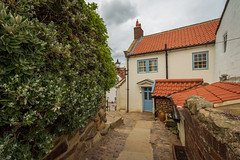 Quaint... (Lee Harris Photography) Tags: architecture building house village colourful yorkshire outdoor landscape street path foliage nikon