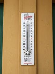 Paradiis (anuwintschalek) Tags: bywanda austria niederösterreich badfischau badfischaubrunn thermalbad fischauerthermalbad freibad suvi sommer summer june 2019 abendschwimmen ujumas termomeeter thermometer