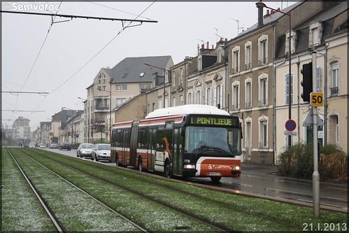 Irisbus Agora L - Setram (Société d'Économie Mixte des TRansports en commun de l'Agglomération Mancelle) n°779