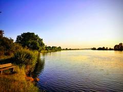 Die Weser bei Dörverden (strallermann) Tags: weser niedersachsen flus strom wasser dämmerung