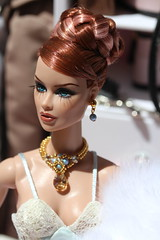 Vanessa (Isabelle from Paris) Tags: fashion royalty vanessa ooak repaint reroot isabelle paris jewels