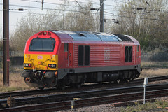 67004-DT-04042019-1 (RailwayScene) Tags: class67 67004 db dbcargo darlington