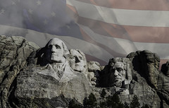 Rushmore Stars&Stripes (GoodingGreen) Tags: mount rushmore south dakota black hills american flag presidents patriotic lincoln washington roosevelt jefferson