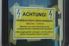 SOB - RABe 526 / FLIRT 3 (Kecko) Tags: railroad train schweiz switzerland europe suisse flirt swiss kecko eisenbahn rail railway zug sg svizzera sob 2019 sargans südostbahn stadler rabe526 flirt3 948575260013chsob rv2020 danger geotagged schild caution gefahr warnung swissphoto geo:lat=47039990 geo:lon=9454800