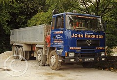 F836PEH FODEN 4300 (Mark Schofield @ JB Schofield) Tags: jim taylor transport road commercial vehicle lorry truck wagon tipper tanker artic eight wheeler haulage contractor bulk haulier tractor unit freight hgv lgv