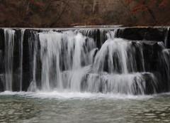 Natural Dam Falls on Mountain Fork Lee Creek - Crawford County, Arkansas (danjdavis) Tags: naturaldamfalls waterfall naturadam mountainforkleecreek crawfordcounty arkansas