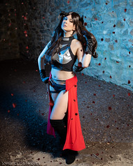 Archer Rin (S1Price Lightworks) Tags: rin tohsaka archer cosplay girl anime manga fat stay night unlimited bladeworks fgo grand order cosplays blades cosmaker canon eos r speedlites gel gels costume