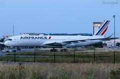 F-WZFN Airbus A350 Air France (@Eurospot) Tags: airfrance fwzfn airbus a350 a350900 toulouse blagnac fhtya