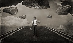 Bring Him Home (Harden Not Your Heart) (Patrick of Ireland) Tags: bw blackandwhite sl secondlife lesmisérables lesmis colmwilkinson virtualreality rudyardkipling photo photography firestorm portrait catwa deadwool