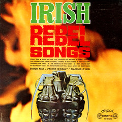 Irish Rebel Songs (Jim Ed Blanchard) Tags: lp album record vintage cover sleeve jacket vinyl weird funny strange kooky ugly thrift store novelty kitsch awkward irish rebel songs handgrenade fire ira