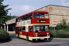 XAU700Y Wellglade Trent 700 (theroumynante) Tags: xau700y trent 700 leyland olympian eastern coachworks ecw matlock bus buses road transport doubledeck wellglade high peak company tp transpeak