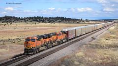 BNSF 8386 ( GE ES44C4 ) (vsoe) Tags: eisenbahn bahn züge güterzug güterzugstrecke route66 lok diesel diesellok railway railroad freighttrain bnsf engine arizona az usa amerika america wüste desert ge dash