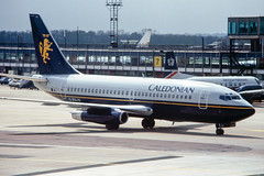 Caledonian 737-200 (Martyn Cartledge / www.aspphotography.net) Tags: 737300 aerodrome aeroplane air aircraft airline airliner airplane airport aspphotography aviation boeing britishairways caledonian cartledge civilairline civilairliner flight fly flying flywinglets gbgjg jet martyn plane runway scan transport wwwaspphotographynet wwwflywingletscom uk asp photography