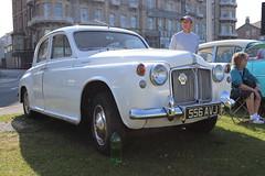 Rover 100 556AVJ (Andrew 2.8i) Tags: classics meet show cars car classic weston westonsupermare british saloon sedan p4 100 rover