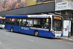 McGill's AD Enviro 200 I8018 YY64YKF - Glasgow (dwb transport photos) Tags: mcgills alexander dennis enviro bus i8018 yy64ykf glasgow
