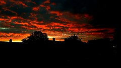 A little bit of sky this evening!! (will668) Tags: sun sunset clouds sunsetsky sunsetglow fabulouscloudysky sunsetclouds