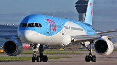 G-OOBC (AnDyMHoLdEn) Tags: thomson tui 757 egcc airport manchester manchesterairport 23l