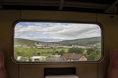 The view from the MkII carriages on the 37-hauled Rhymney Valley service (Dai Lygad) Tags: photos photographs pictures images freetouse stock flickrstock jeremysegrott flickr transportforwales tfw rhymneyvalley 17thjune 2019 mkii publictransport travel wales southwales uk