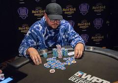 Jeff Trudeau doubles up (World Poker Tour) Tags: worldpokertour deepstacks wpt poker seminolehardrocktampa season18 2019 tampa fl usa