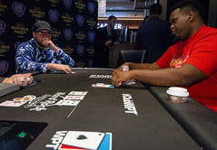 Heads Up Jeff Trudeau vs Fabian Foster (World Poker Tour) Tags: worldpokertour deepstacks wpt poker seminolehardrocktampa season18 2019 tampa fl usa