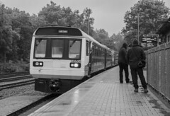 Rhymney (Dai Lygad) Tags: photos photographs pictures images freetouse stock flickrstock jeremysegrott flickr transportforwales tfw rhymneyvalley 17thjune 2019 firstdayofclass37operation pacer dmu blackandwhite publictransport travel wales southwales uk