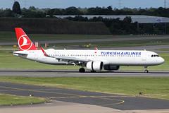 Turkish Airlines Airbus A321-271NX TC-LSD BHX 16/06/19 (bhx_flights) Tags: bhx egbb birminghamairport birmingham airport airbus turkish turkishairlines airbusa321 airbus321 airbusneo