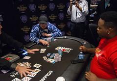 Heads Up- Jeff Trudeau doubles up (World Poker Tour) Tags: worldpokertour deepstacks wpt poker seminolehardrocktampa season18 2019 tampa fl usa