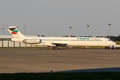 LZ-LDP (PlanePixNase) Tags: aircraft airport planespotting haj eddv hannover langenhagen mcdonnell douglas md82 bulgarianaircharter