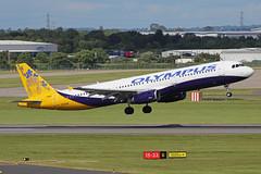 Olympus Airways Airbus A321-231 SX-ACP BHX 16/06/19 (bhx_flights) Tags: bhx egbb birminghamairport birmingham airport airbus airbus321 airbusa321 olympus olympusairways monarch monarchairlines