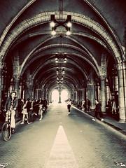 Through the Rijksmuseum (Bonsailara1) Tags: rijksmuseum museo museum holanda amsterdam netherlands tunel tunnel
