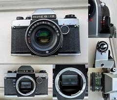 Kiev 19 SLR with Helios 81-N (гелиос-81н) Montage (bigalid) Tags: camera kiev arsenal 19 slr helios 81n гелиос81н montage