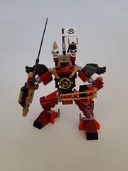 Samurai Mech ( slightly modified) (nz-brickfan) Tags: lego ninjago mech samurai japanese legophotography toyphotography