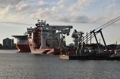 Normand Jarstein en Connector (Hugo Sluimer) Tags: haven havenfotografie havenfoto harbour harbourphoto harbourphotography nederland zuidholland holland nikon nikond500 d500 onzehaven portofrotterdam port