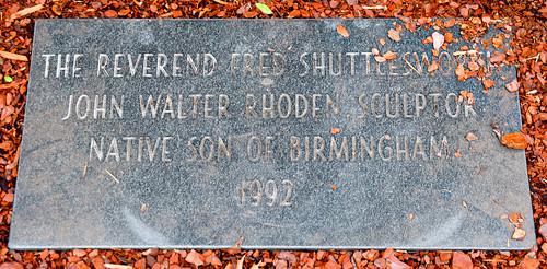 'The Reverend Fred Shuttlesworth' by John Walter Rhoden (1992) Civil Right Institute Birmingham (AL) February 2019