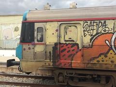 Algarve *  feb 2019 (lu.glue) Tags: street winter sky urban streetart art portugal colors station train graffiti downtown spray cans algarve tacks lu comboio olhao estacao discovered lugliue
