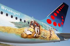 OO-SNE 17062019 (Tristar1011) Tags: ebbr bru brusselsairport brusselsairlines airbus a320200 a320 bruegel snbruegel oosne