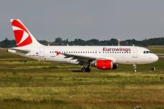OK-NEM (PlanePixNase) Tags: aircraft airport planespotting haj eddv hannover langenhagen airbus 319 a319 eurowings csa czechairlines