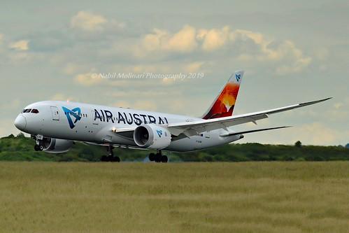Air Austral F-OLRB Boeing 787-8 Dreamliner cn/34491-15 @ LFPG / CDG 15-06-2019