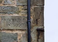 312 | Commercial street, Lerwick (Mark & Naomi Iliff) Tags: shetland lerwick stone sign text