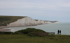 Seven Sisters, Sussex Coast (timothyhart) Tags: sevensisters sussex coastalwalk walk coast englishchannel england uk eastsussex southeast countryside whitecliffs whitecliffes dover cuckmerehaven birlinggap landscape outdoors leisure hiking white chalk geology june 2019 sea ocean water waves seawater wildlife outstanding beauty