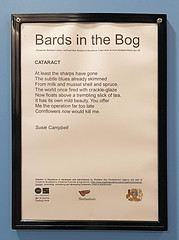 326 | Bards in the Bog – Shetland Museum (Mark & Naomi Iliff) Tags: shetland lerwick shetlandmuseum museum poem text