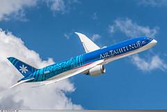 Boeing 787-9 Air Tahiti Nui F-OVEA ( N1015X ) (Clément W.) Tags: boeing 7879 air tahiti nui fovea n1015x lbg lfpb
