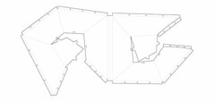 Double+Skin+Voronoi+Print (studioforcreativeinquiry) Tags: frfaf studioforcreativeinquiry sfci studio terrarium architecture