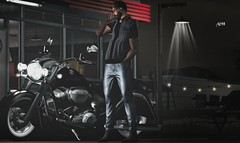 No781 (ashraf rathmullah) Tags: moto motodesign indiana classic jacket galvanized truck available level event jeans g poses ckey leandro series marketplace mainstore