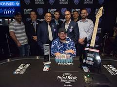 Champion Jeff Trudeau with Seminole Hard Rock Tampa Staff (World Poker Tour) Tags: worldpokertour deepstacks wpt poker seminolehardrocktampa season18 2019 tampa fl usa