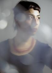 Beatrice IV (ndrearu) Tags: girl model effect canon 6dmarkii creative portrait colors color lights studio indoor eye eyes