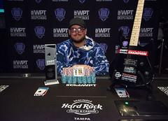 WPTDS Tampa Champion Jeff Trudeau (World Poker Tour) Tags: worldpokertour deepstacks wpt poker seminolehardrocktampa season18 2019 tampa fl usa