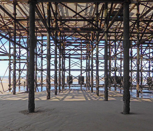 Under the South Pier, Blackpool