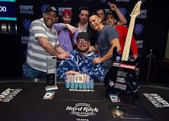 Champion Jeff Trudeau & Friends (World Poker Tour) Tags: worldpokertour deepstacks wpt poker seminolehardrocktampa season18 2019 tampa fl usa