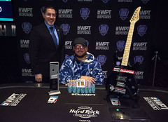 Champion Jeff Trudeau & WPT Senior Director of Global Tour Management Sam Carioti (World Poker Tour) Tags: worldpokertour deepstacks wpt poker seminolehardrocktampa season18 2019 tampa fl usa
